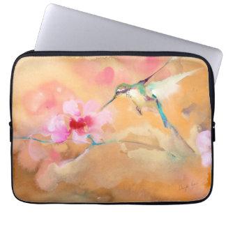 """""""Rodna"""" Hummingbirdtrycket Laptop Fodral"""