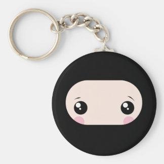 Rodna Kawaii Ninja Rund Nyckelring