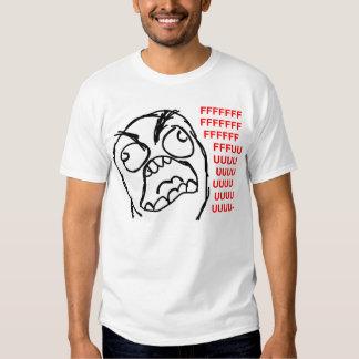 rofl för lol för meme för ursinneansikteursinne tee shirts
