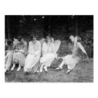 Röka dem, om du fick dem: 1922 vykort