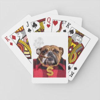 Röka den Gangsta bulldoggen Spel Kort