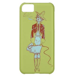 Röka för cigarett för Cowgirl för iPhone 5C Fodral