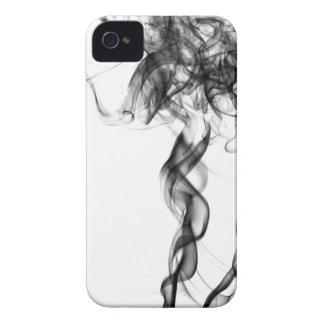 Röka fotografi - svart blackberry boldfodral iPhone 4 Case-Mate case