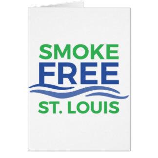 Röka fria pappra produkter för STL Hälsningskort