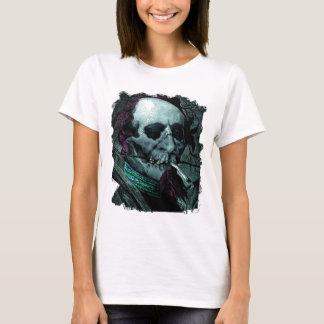 Röka konst för vintage för ZombiemanStoner bisarr Tshirts