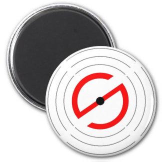 Röka signalerar magneten - #1 magnet rund 5.7 cm