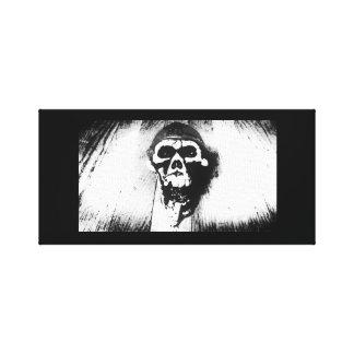 """""""Röka skalle"""" fotokonst Canvastryck"""