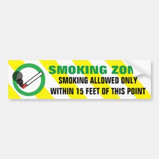 Röka zont tillåtet inom 15 fot varna underteckna bildekal
