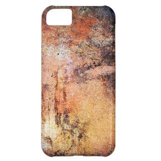 röker den rostiga bruna konstbrännskadan för iPhone 5C fodral