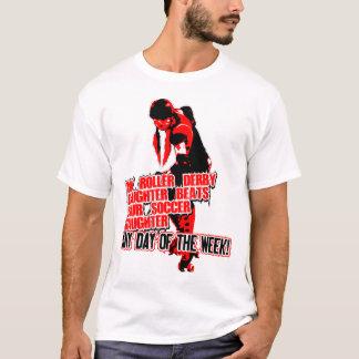 Roler Derby svart T-shirt