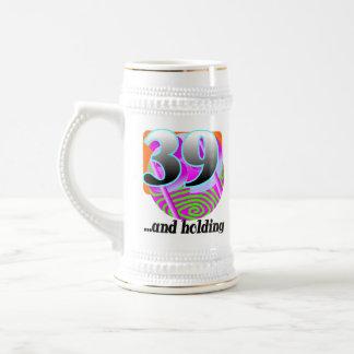 Rolig 39th födelsedaggåva kaffe koppar