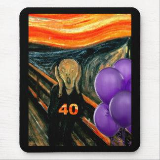 Rolig 40th födelsedag musmatta