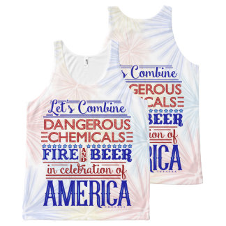Rolig 4th av humorn för Juli ölfyrverkerier