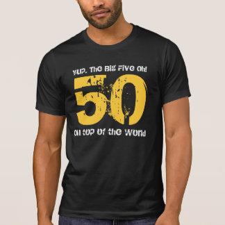 Rolig 50th födelsedaggåva överst av världen T05