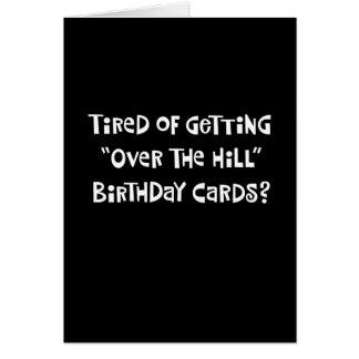 Rolig 53rd födelsedaghälsning hälsningskort
