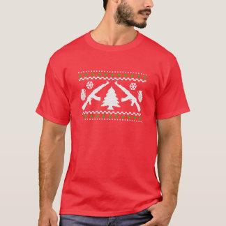 Rolig AK47 ful jultröja Tee Shirts