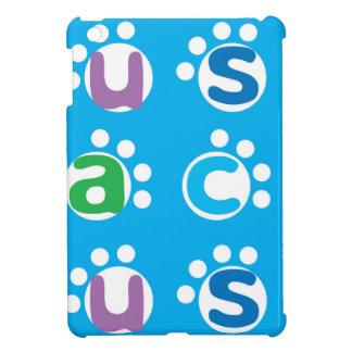 Rolig alfabetlek & tasstryckdesign iPad mini skydd