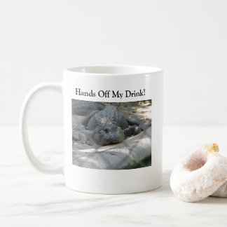 Rolig alligator kaffemugg