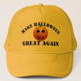 Rolig amerikanpumpa Halloween Truckerkeps