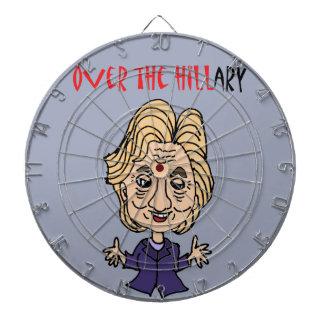 Rolig Anti Hillary Clinton politisk konst Piltavla