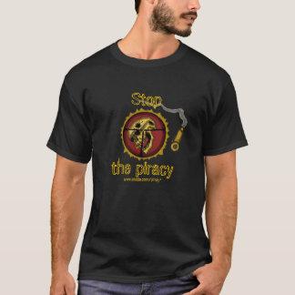Rolig anti-piratkopiering t-skjorta t shirt