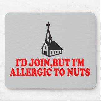 Rolig ateist mus matta