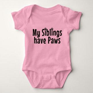 Rolig babyskjorta tee shirt