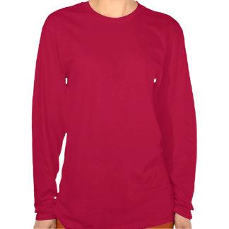 Rolig bästa julLongsleeve för damer Santa Tshirt Tee Shirts