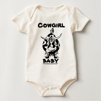 Rolig bebist-skjorta för Cowgirl Creeper