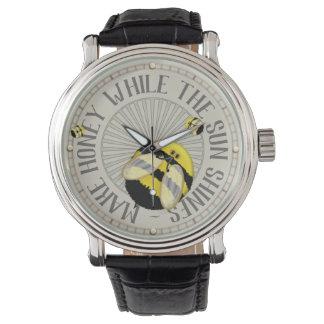 Rolig Beekeeping för stora bin Armbandsur