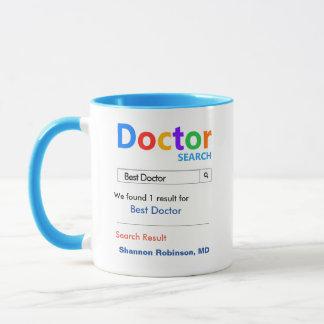 Rolig beställnings- bäst doktorgåva mugg