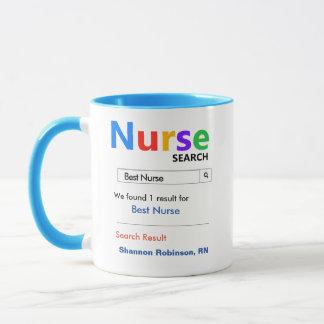 Rolig beställnings- bäst sjuksköterskagåva mugg