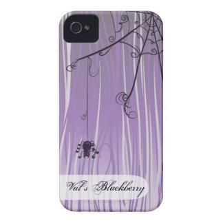 Rolig beställnings- purpurfärgad gotisk Case-Mate iPhone 4 fodral