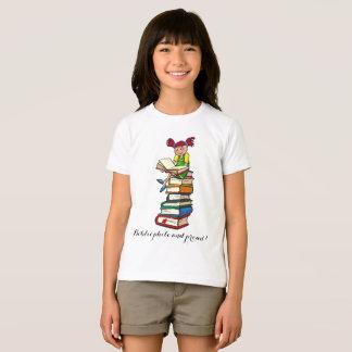 Rolig bibliofil och stolt t shirt