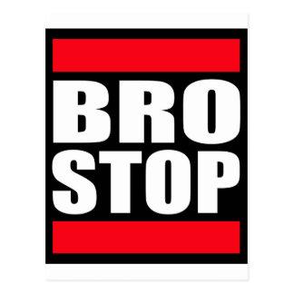 Rolig BROSTOP Anti Brostep Dubstep Vykort