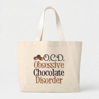 Rolig choklad jumbo tygkasse