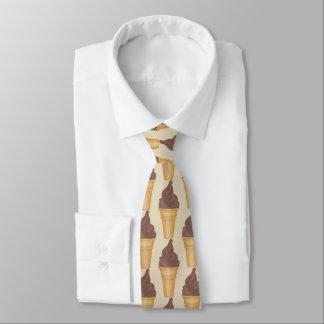 Rolig chokladglass shoppar den belade med tegel slips