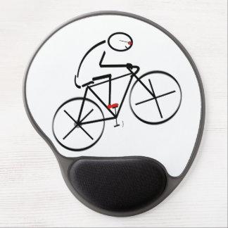 Rolig cyklistdesign gel musmatta