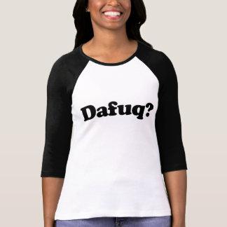 Rolig dafuqhumor t shirts
