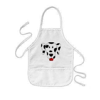 Rolig Dalmatian Barnförkläde