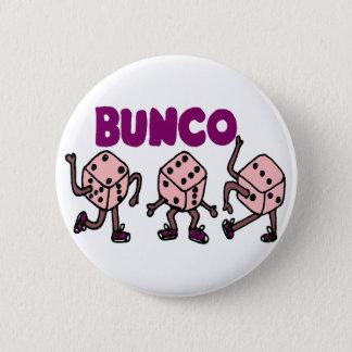 Rolig dansa Bunco tärning Standard Knapp Rund 5.7 Cm