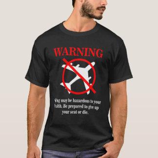 Rolig Disclaimer för flygplanvarningsmeddelande Tröja