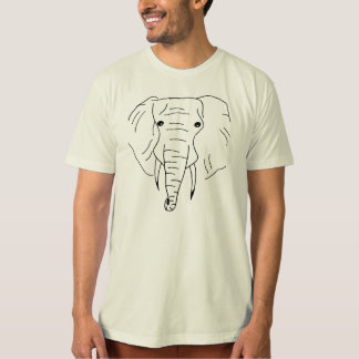 rolig elefant tee