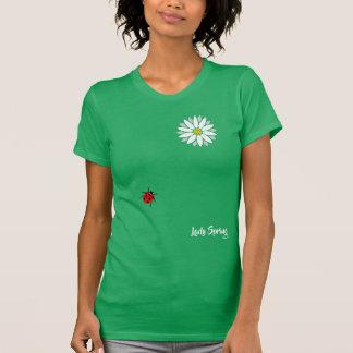 Rolig elegant anpassade för damvår t-shirts