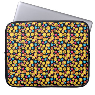 Rolig Emoji trycksleeve Laptop Sleeve