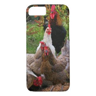 Rolig Farmyardhöna- & tuppiphone case