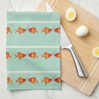 Rolig fisk kökshandduk