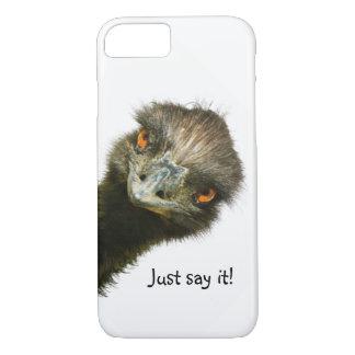 Rolig för Emu något att säga precis det