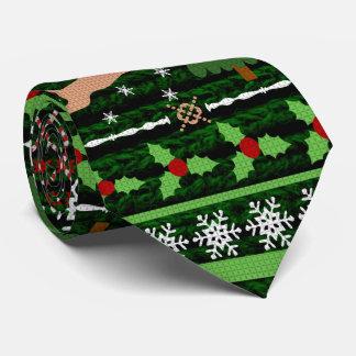 Rolig ful jultröja slips