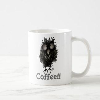 Rolig galen gullig kaffePaul Stickland uggla Kaffemugg